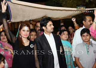 Pakistani Actor Babar khan And Sana khan Wedding Pictures
