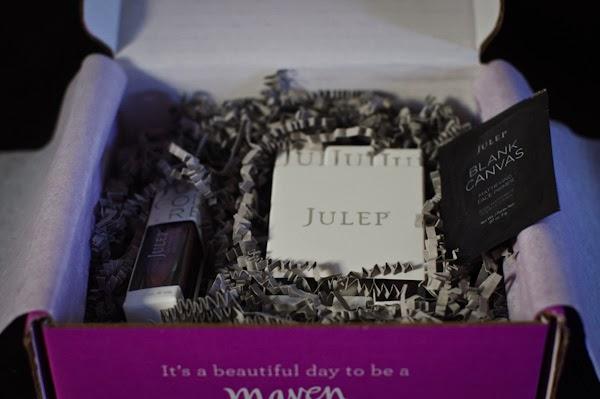 Julep Maven box presentation