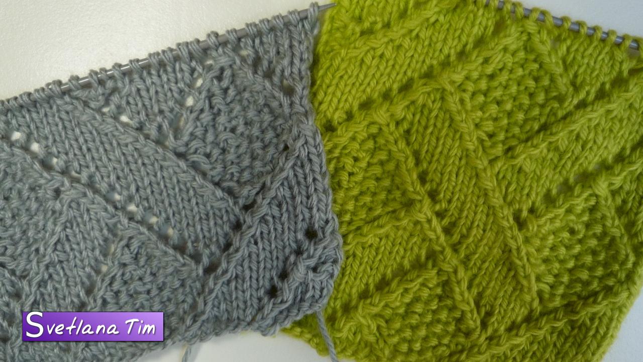 Плетенка вязание