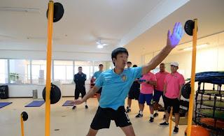 Luzes podem ser usadas para treinos de Goleiros