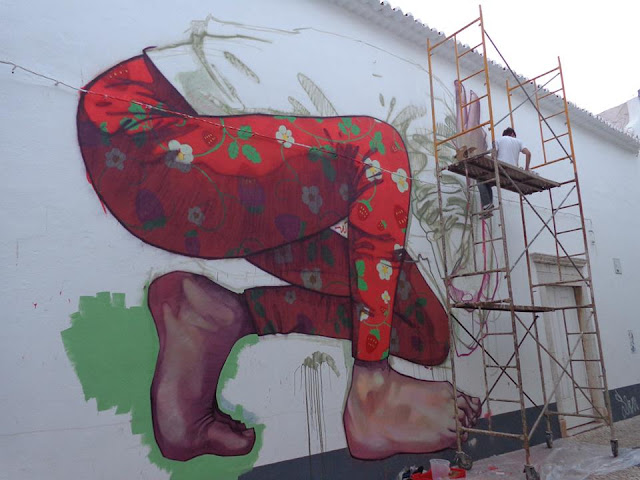 Street Art By Bezt From Etam Cru For Arturb Urban Art Festival In lagos, Portugal. 9