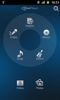 RealPlayer Android - Multimedia Player terbaik