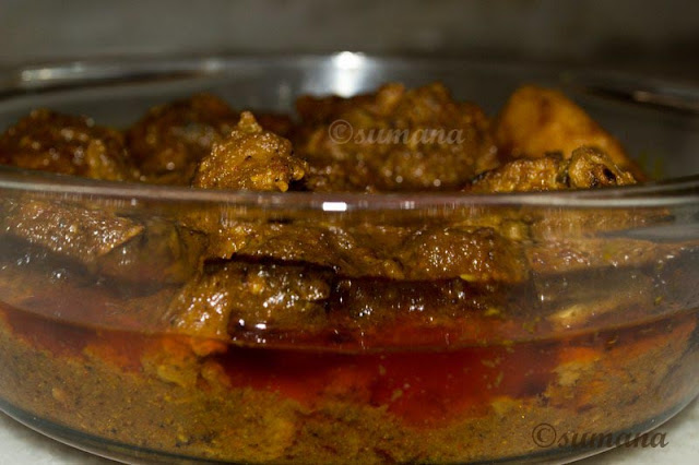Mutton kasha, kosha mangsho, authentic bengali mutton curry, Easy to cook mutton recipe,