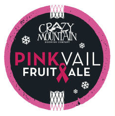 Crazy Mountain Pink Vail Fruit Ale