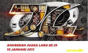 Anugerah Juara Lagu 29 (AJL29) Tahun 2015