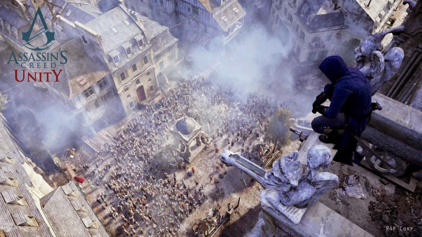 assassin's creed unity bastille day trailer