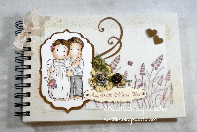 Estremamente Sadilla's Blog: quaderno firme per nozze d'oro! KW74
