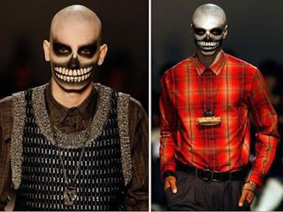 20 Weirdest Fashion Trends: The Scream Man