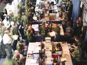 The Army Operations Center