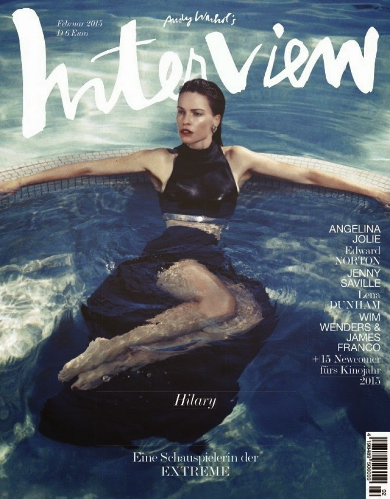 Hilary Swank - Interview Magazine, Germany, February 2015