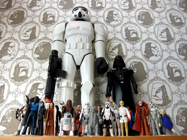 Star Wars Wallpaper! Imperial Forces Wall Covering by Brian Flynn ...