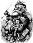 Nast's Santa