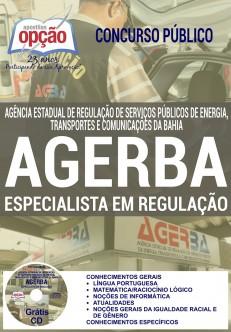 Apostila Concurso AGERBA 2017 (ATUALIZADA)