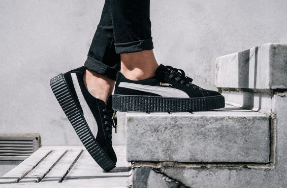 Puma Creepers On Feet