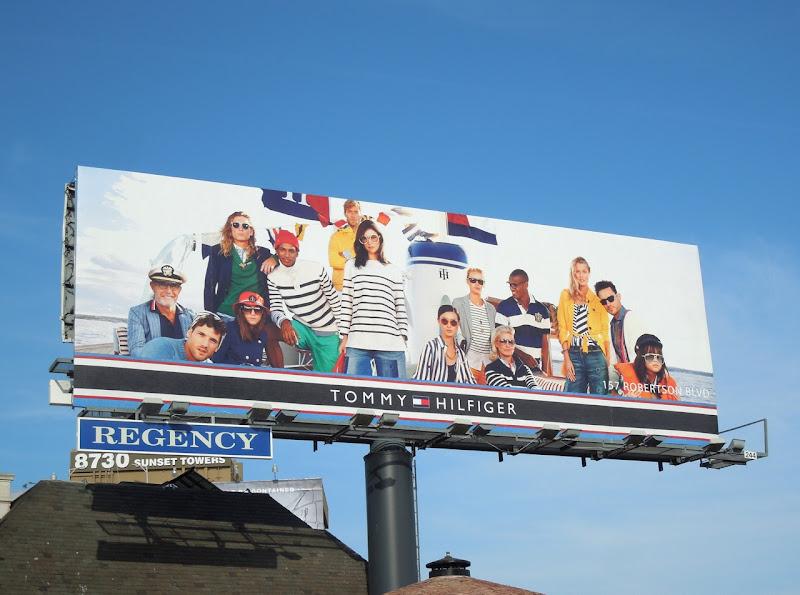 Tommy Hilfiger nautical S13 billboard