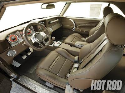 1969 Chevy  Camaro interior
