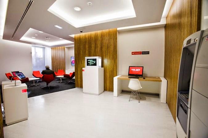 Santander abre su primera oficina para clientes select en espa a ddr datos de referencia - Oficinas santa lucia madrid ...
