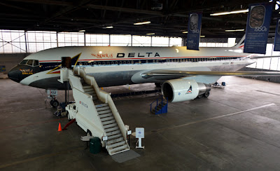The Spirit of Delta, Boeing-767 Ship 102, Delta Heritage Museum