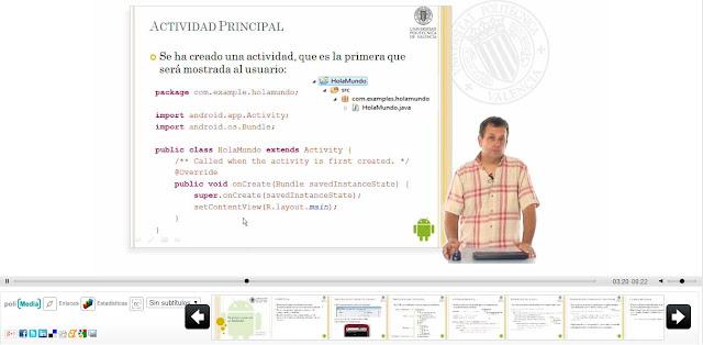 Curso Programacion de Aplicaciones Android de la UPV