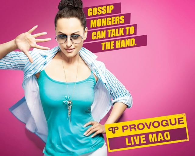 Latest Sonakshi Sinha Provogue Photoshoot