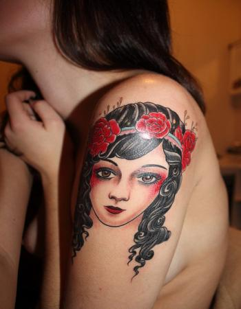 Sleeve Tattoo Ideas For Girls 2011