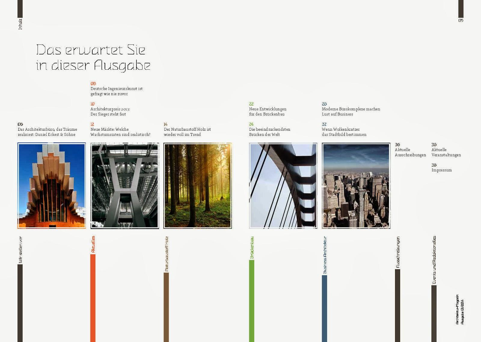 Editorial Design Magazine On Architecture Hcg Corporate