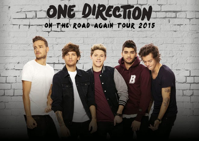 One Direction Tour 2015