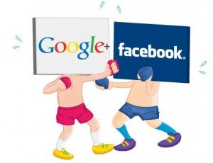 Facebook Vs. Google
