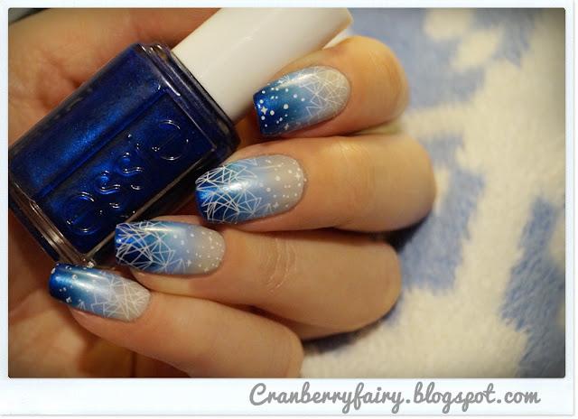 gwiazdy na paznokciach