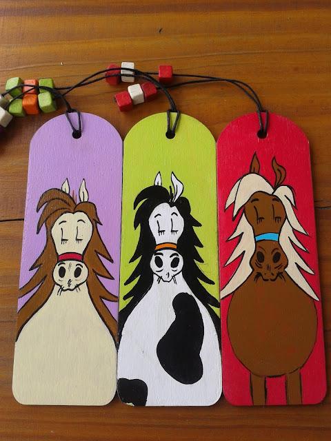 ręcznie malowane, koń