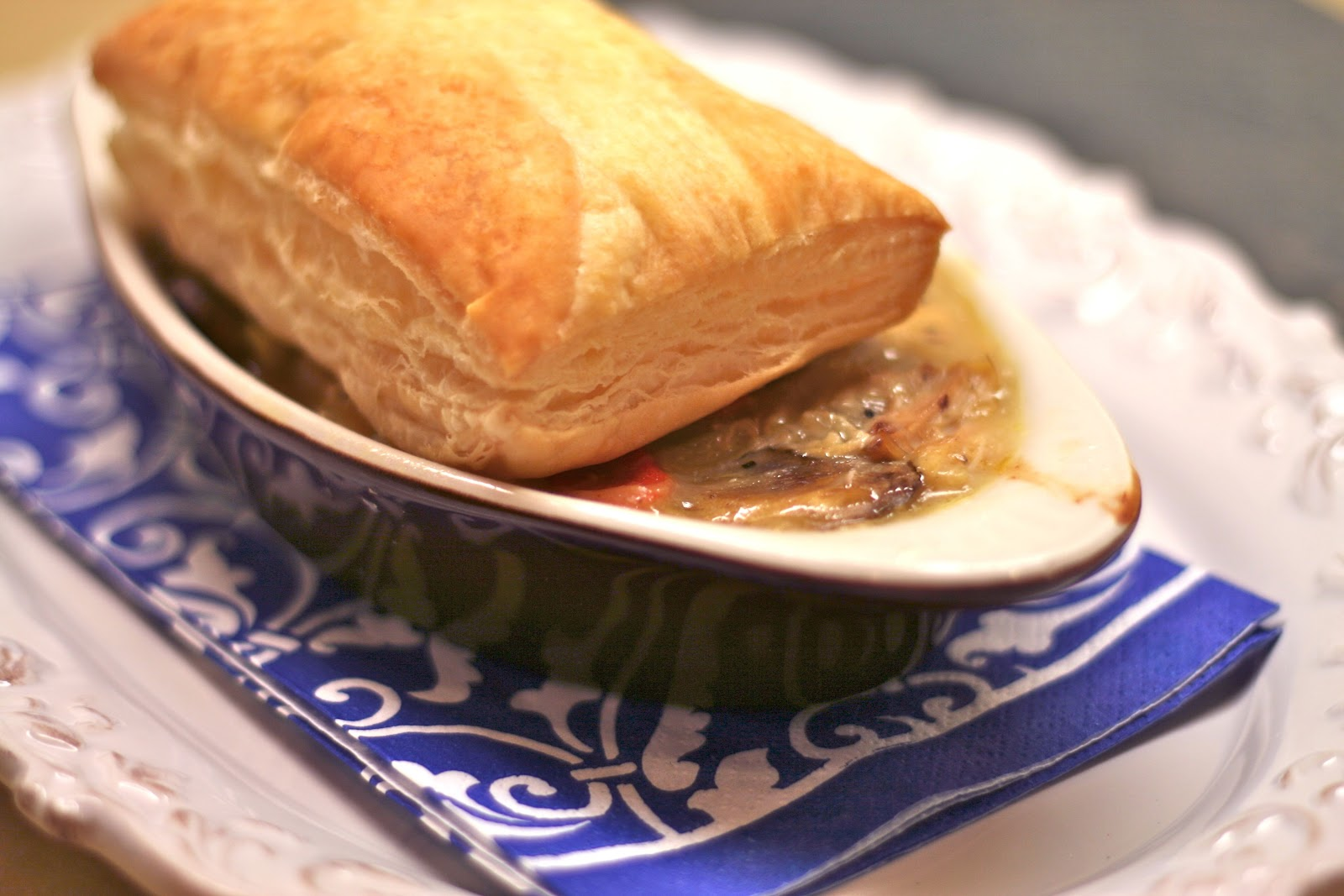 tune 'n fork: Quick Chicken Pot Pie