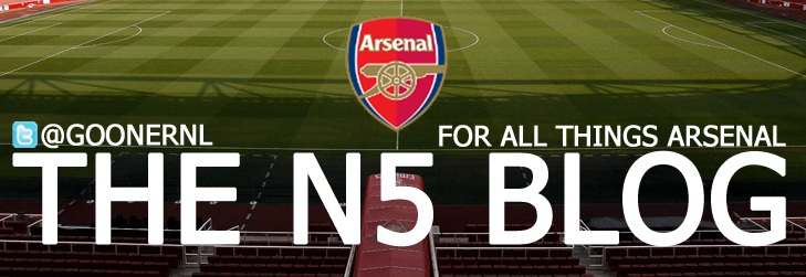 The N5 Blog; for all things Arsenal