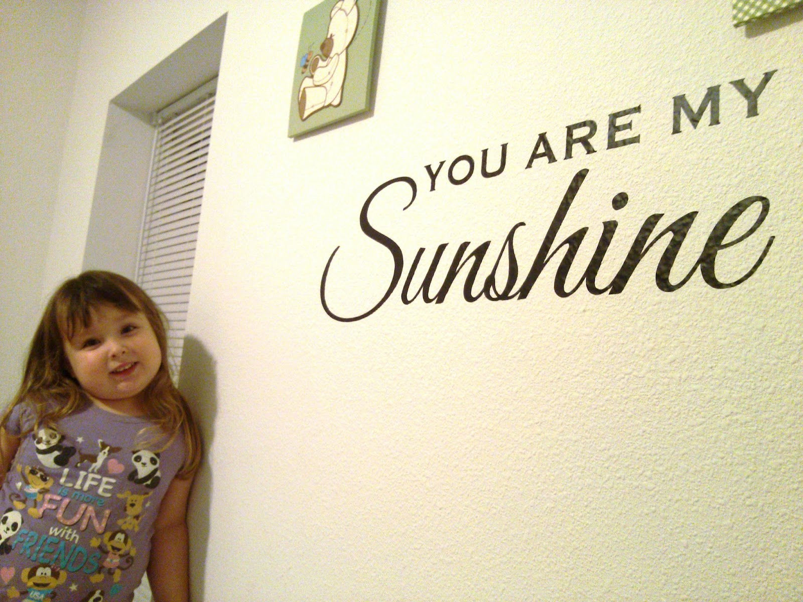 You Are My Sunshine Wall Decal Review