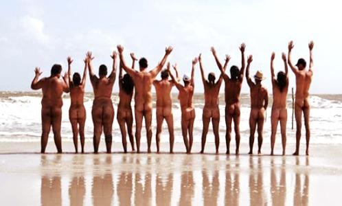 Nudismo no Pará - Praia da Romana