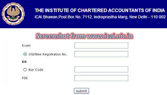 CA Exam Admit Card
