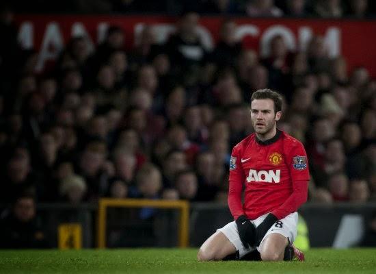 Juan Mata Manchester United Winger 2014