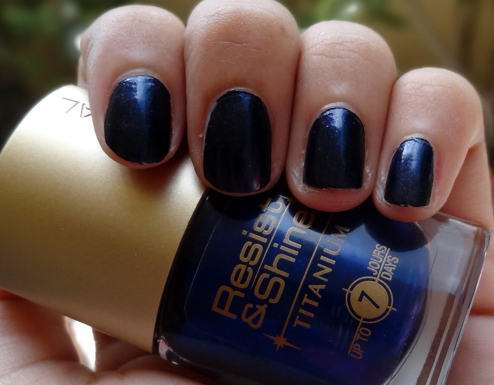 L\'Oreal Navy Velvet Nail Polish: Not Quite \'Blue-n\' Away ...