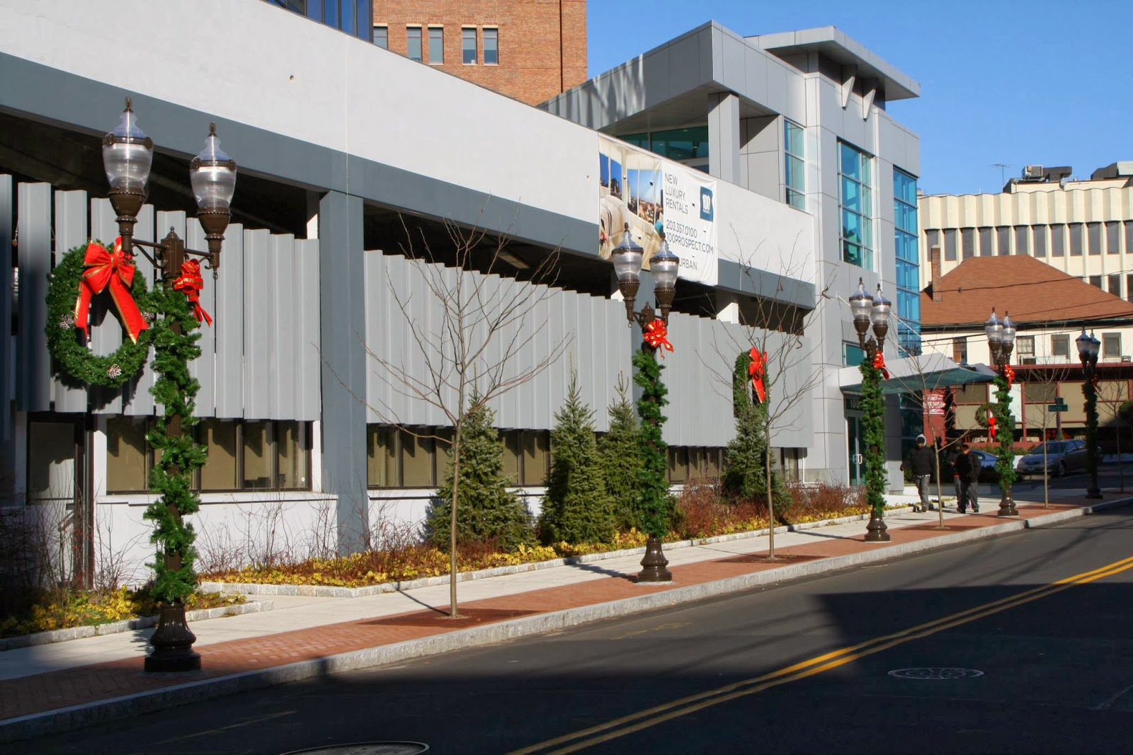 University Avenue Holiday Lights In >> Downtown Decorations, Inc.: Stamford, Connecticut