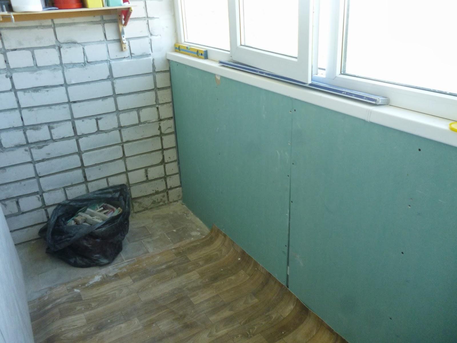Как отремонтировать балкон своими руками женщине 62
