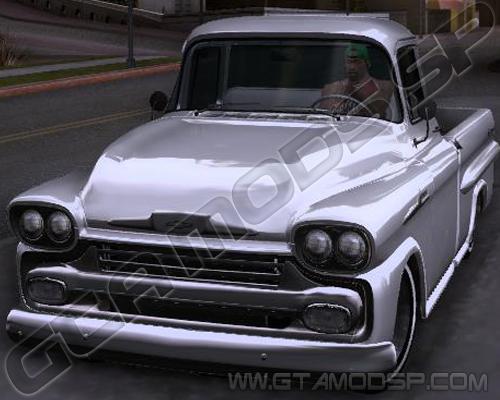 GTA SA - Chevrolet Apache Marta Rocha 1959 lowrider Sp