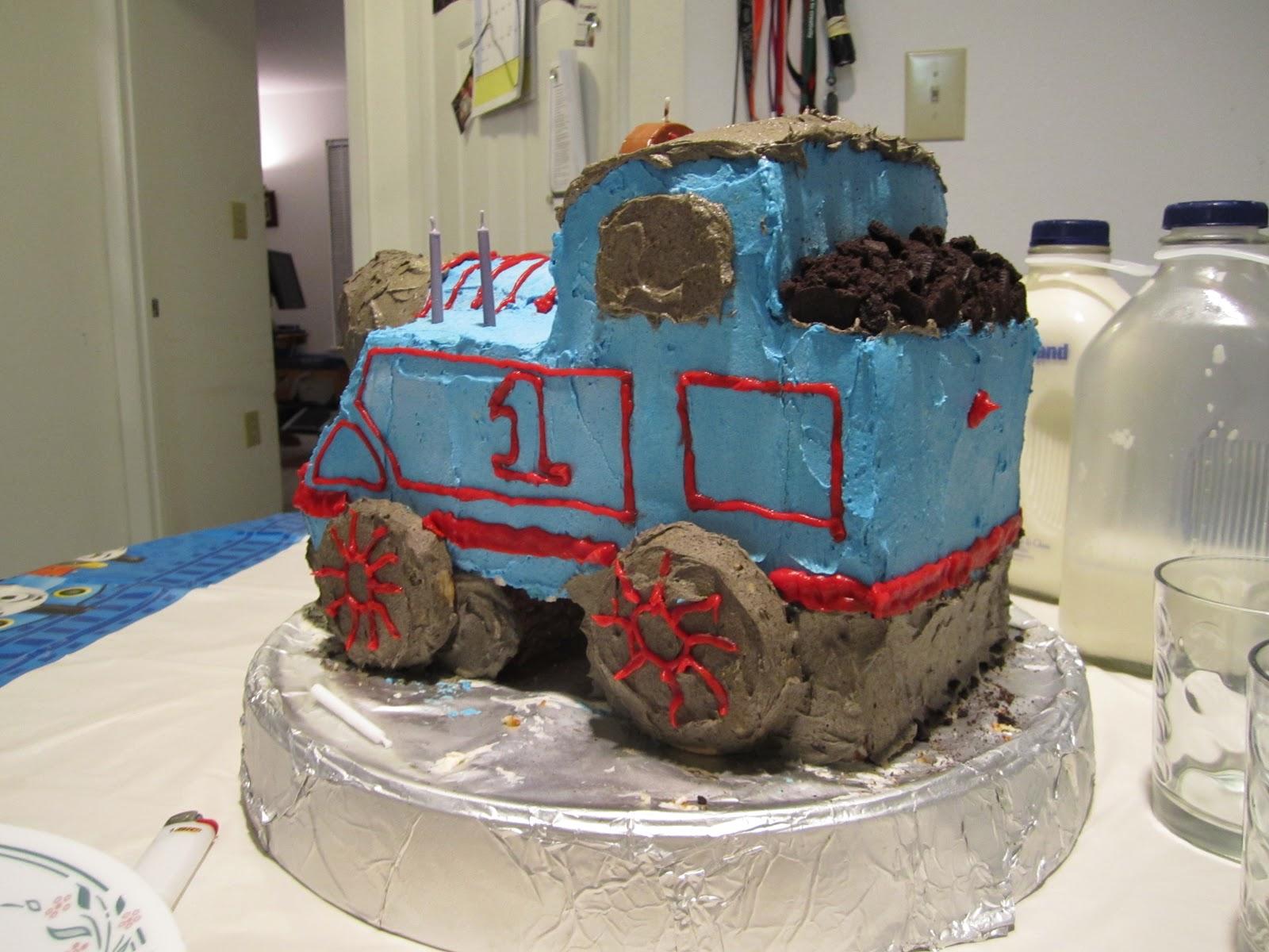 Hometown Agrarian Thomas The Tank Engine Birthday Cake