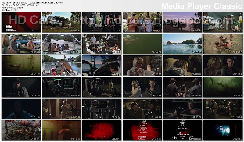 Shark Night 2011 video thumbnails