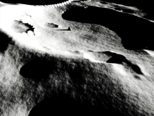 Pyramid On The Moon? Apollo 17 Mission Image