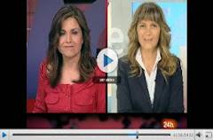 40. Entrevista de Inma Gómez-Lobo ,en RTVE 24 horas, a  Isabel Neira Gómez, profesora de Econometrí