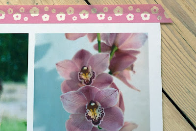 DIY notebook cover: washi tape