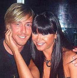 Melissa García feliz junto a Guti