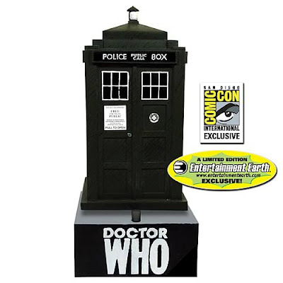 San Diego Comic-Con 2012 Exclusive Doctor Who Original TARDIS Bobble Head with Sound by Bif Bang Pow! and Entertainment Earth