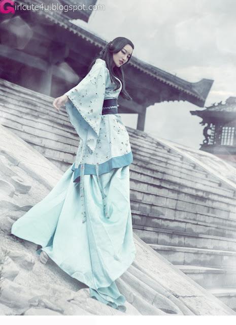 1 Xu Qian - Classical-very cute asian girl-girlcute4u.blogspot.com