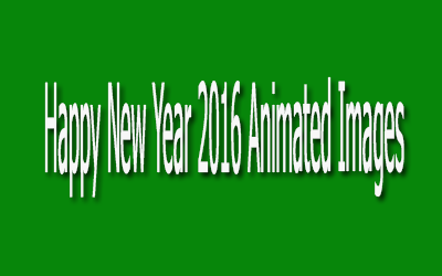 Happy New Year 2016 Animated Images