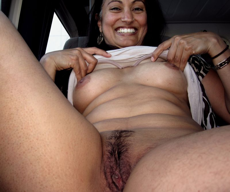 She is a lovely indian milf